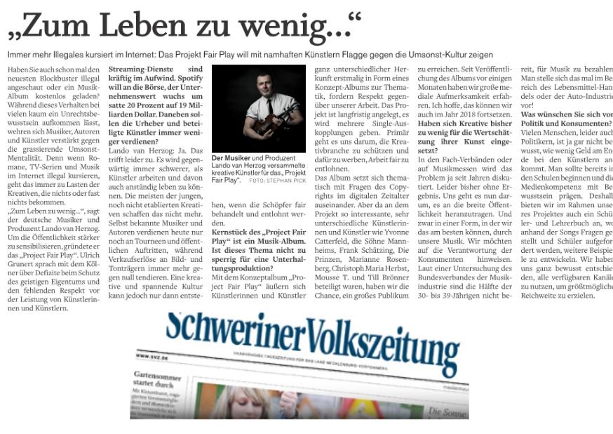 Schwerinervolkszeitung